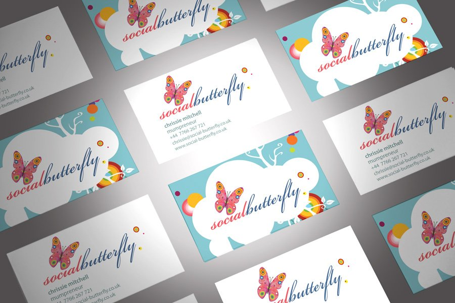 Amazing Butterfly Business Cards Ideas - Business Card Ideas ...